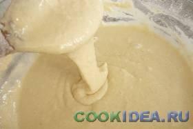 Вымешиваем однородное тесто, без комочков. ...