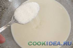 После этого добавляем соль и ...