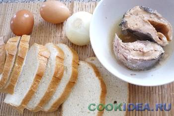Бутерброды с горбушей горячие - Используемые продукты