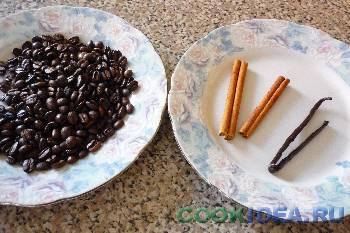 Кофе с ванилью (корицей) - Используемые продукты
