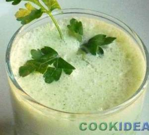Кефирно-огуречный напиток