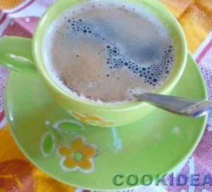 Кофе с ванилью (корицей)