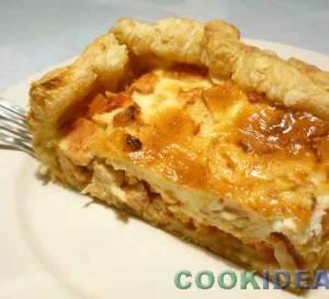Пирог куриный-киш