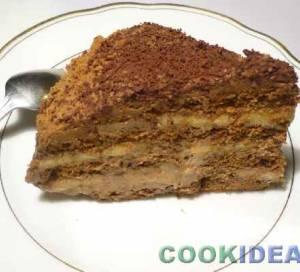 """Пряничный торт """"Объедение"""" (без выпечки)"""
