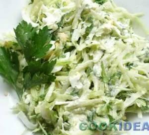 """Салат из зелёной редьки """"Витаминный"""""""
