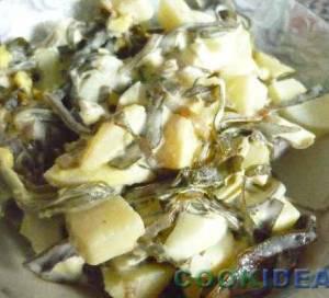 """Салат с морской капустой """"Самый"""