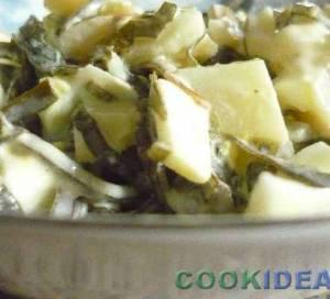 """Салат с морской капустой """"Самый лучший завтрак"""""""