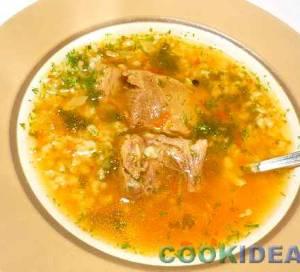 Суп-харчо с говядиной