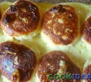 Сырники в сливочном соусе