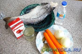 Рыба под маринадом - Используемые продукты