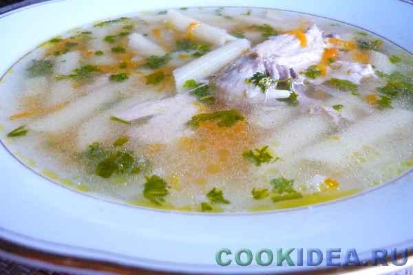Суп куриный с